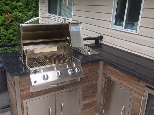 Outdoor Built in BBQ